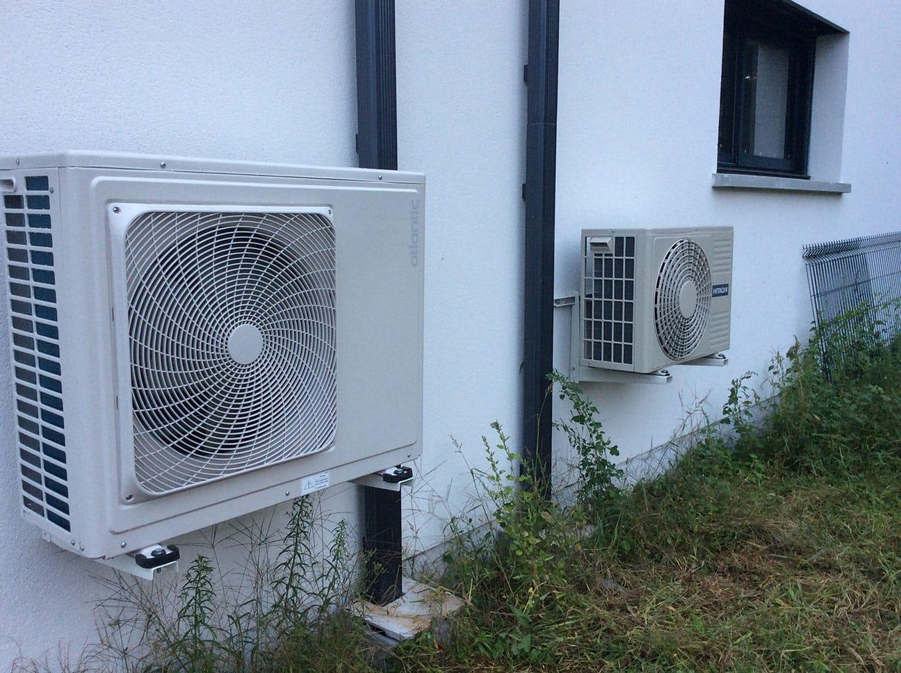 Installation climatisation par Minoria Concept
