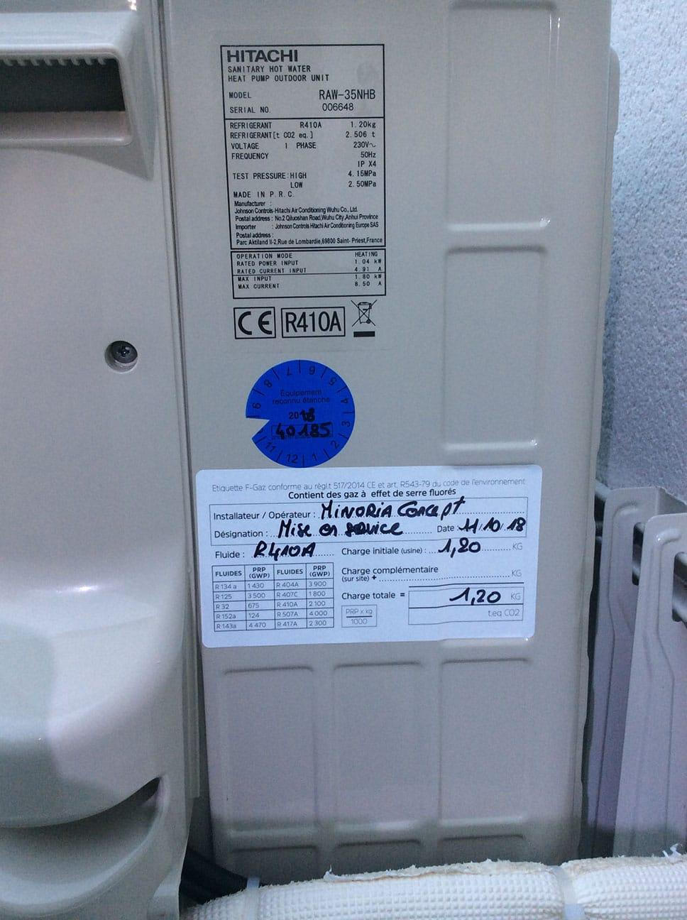 Installation climatiseur par par Minoria Concept