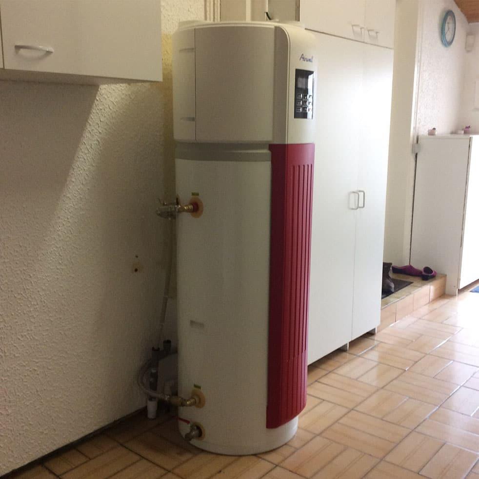 chauffe eau par Minoria Concept