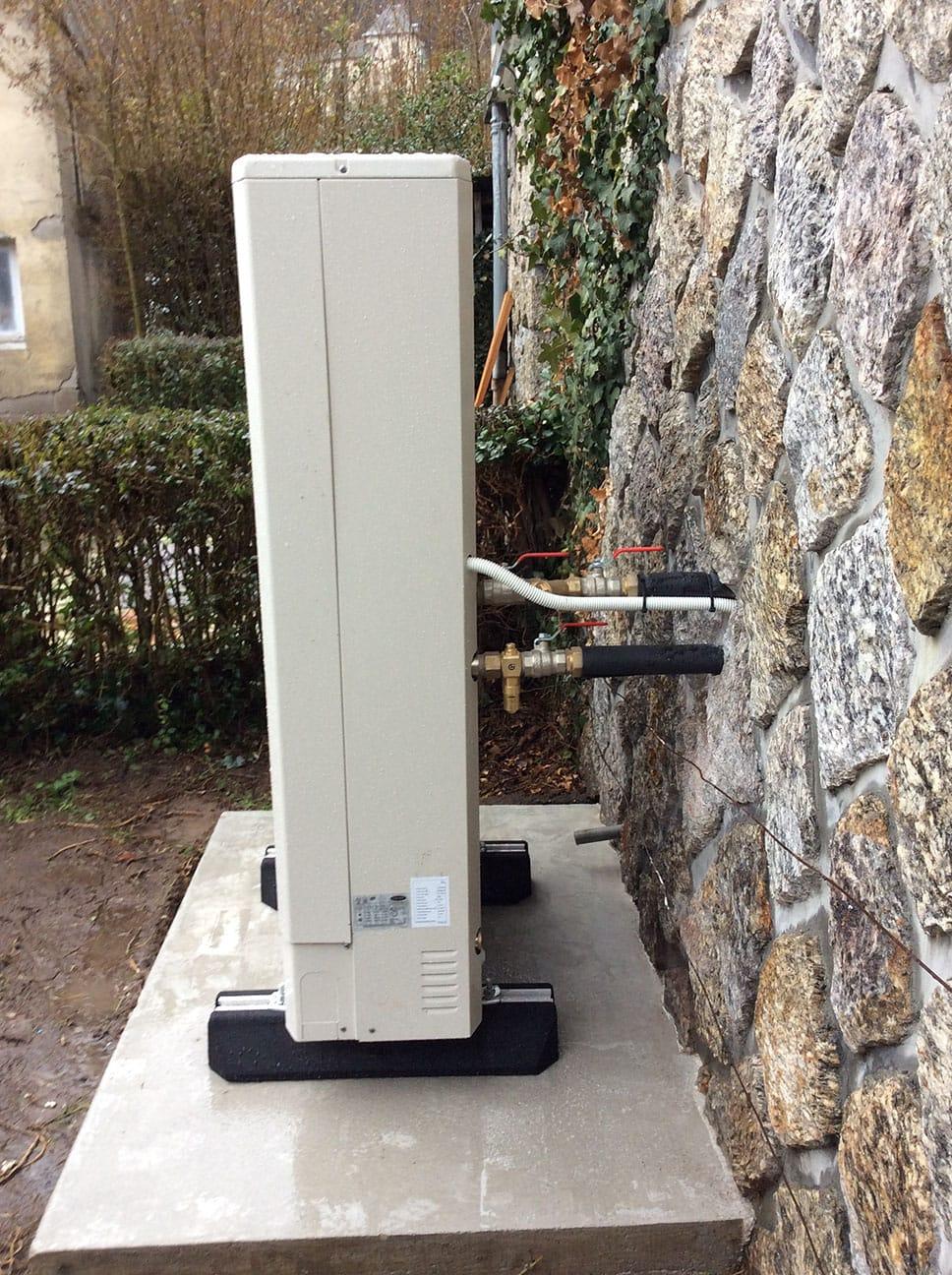 Pompe à chaleur extérieur par Minoria Concept