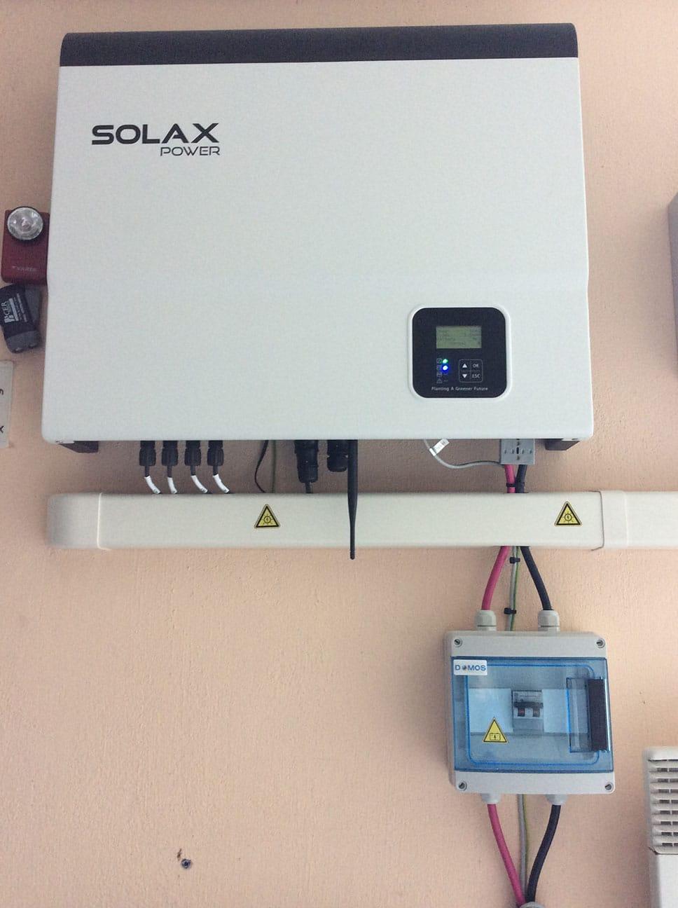 Installation SOLAX par Minoria Concept