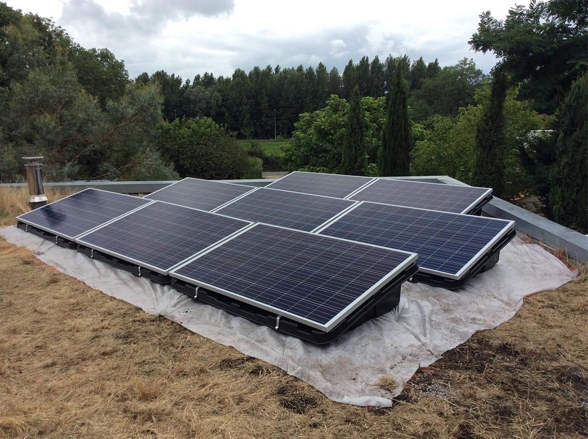 Panneaux photovoltaiques par Minoria Concept