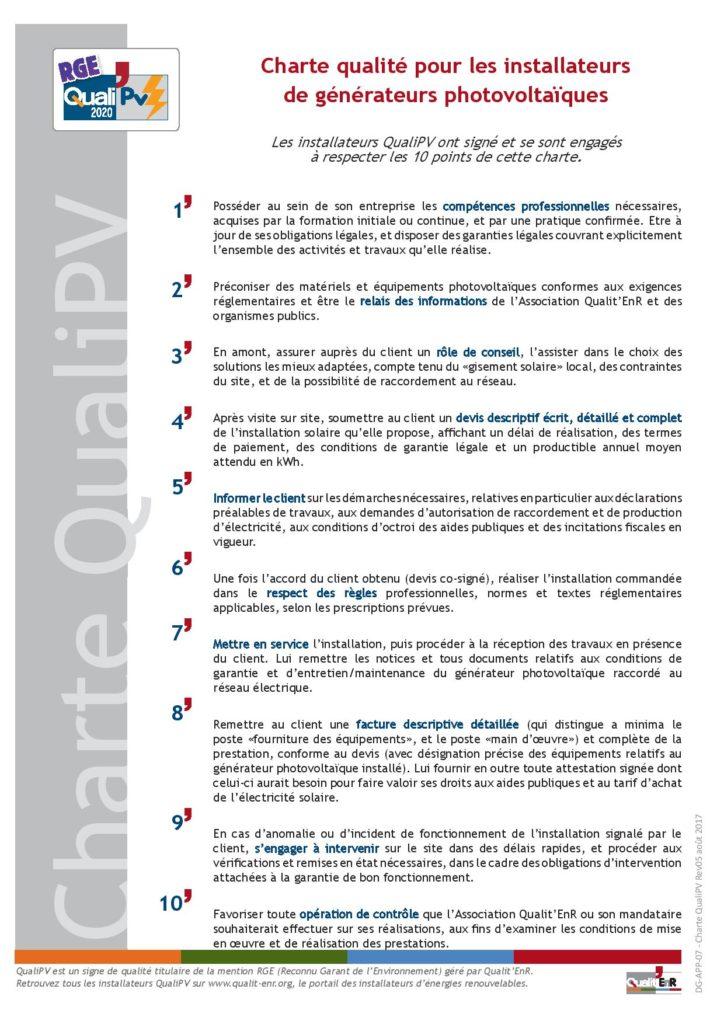 Minoria Concept : Une entreprise certifiée RGE QualiPV