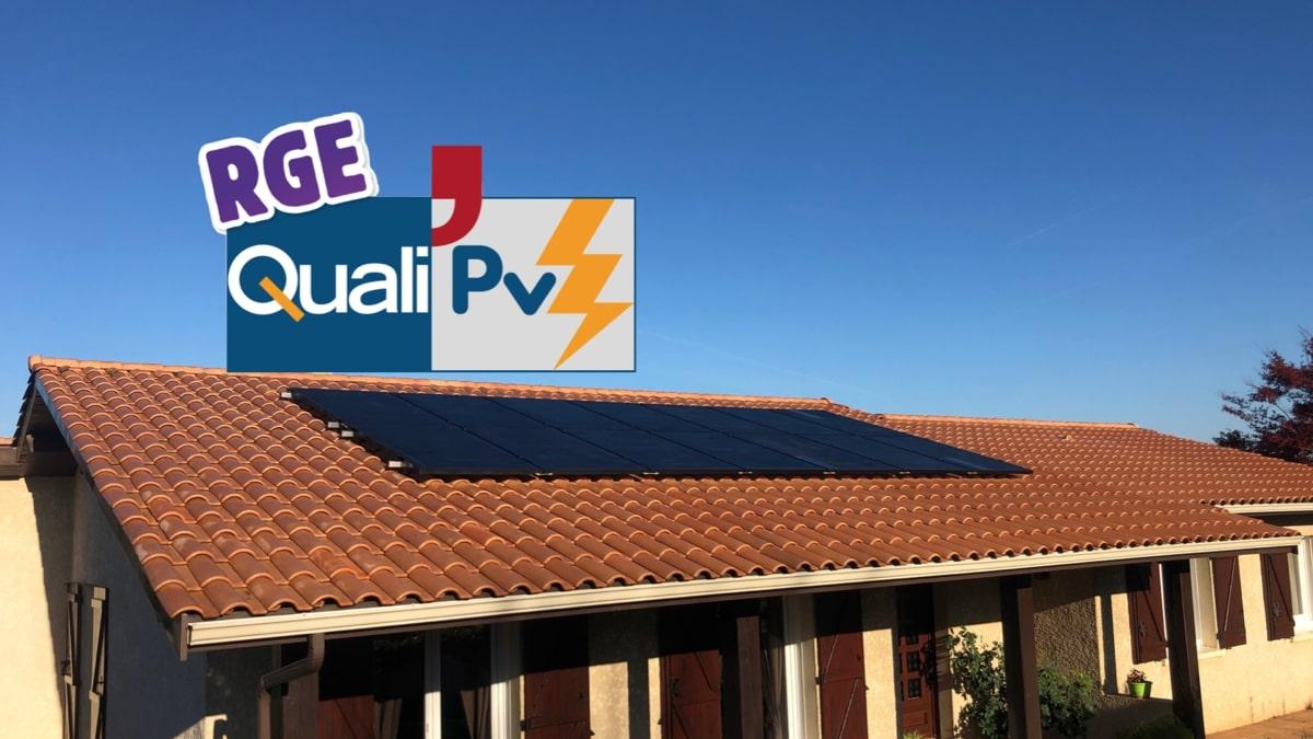 RGE QualiPV : La marque de confiance des professionnels